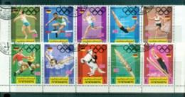 Yemen Kingdom 1969 Munich Olympics '72 CTO - Yemen