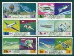 Yemen Kingdom 1970 Aircraft/Space CTO - Yemen