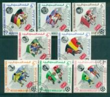Yemen Kingdom 1970 Soccer World Cup Mexico CTO - Yemen
