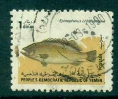 Yemen PDR 1984 1d Fish FU Lot26446 - Yemen