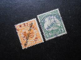 D.R.11b/14  25/5Pf   Deutsche Kolonien (Marshall-Inseln)  1899/1901  Mi 72,00 € - Kolonie: Marshalleilanden
