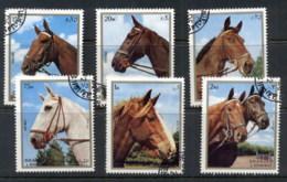 Sharjah 1972 Mi#1276-1281 Horses CTO - Sharjah