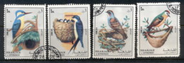 Sharjah 1972 Mi#1308-1311 Birds CTO - Sharjah