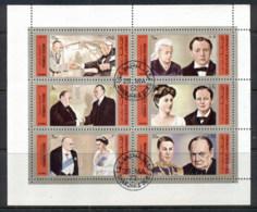 Sharjah 1972 Mi#889-894 Winston Churchill Sheetlet CTO - Sharjah