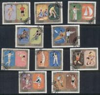 Sharjah 1972 Mi#942-951 Summer Olympics Munich CTO - Sharjah