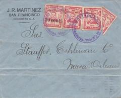 Honduras: 1914: Letter From San Francisco To Nueva Orleans - Honduras