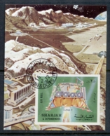 Sharjah 1972 Mi#MS114A Luna 9 Space Mission Landing Module MS CTO - Sharjah