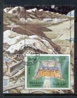 Sharjah 1972 Mi#MS114A Luna 9 Space Mission MS CTO - Sharjah