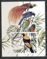 Sharjah 1972 Mi#MS121 Birds (I) MS CTO - Sharjah