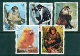 Sharjah 1972 Monkeys CTO - Sharjah