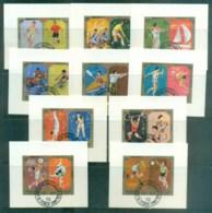 Sharjah 1972 Munich Olympics IMPERF CTO Lot77273 - Sharjah
