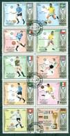 Sharjah 1972 Munich Olympics, World Cup Soccer Blk 10 CTO - Sharjah