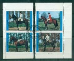Sharjah 1972 Race Horses CTO - Sharjah