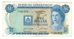 Bermuda 1 Dollar 1970, VF. - Bermudas