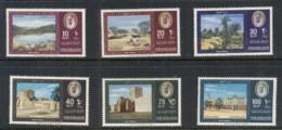 Sharjah 1964 Mi#81-86 Country Impressions MUH - Sharjah