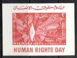Sharjah 1964 Mi#MS6 Human Rights Day MS MUH - Sharjah