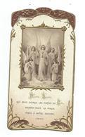 IMAGE PIEUSE Gaufrée De 1913...édit. Morel N 547.. Hostie Sainte Qui Nous Ouvrez Les Portes... - Devotieprenten
