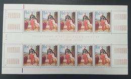 "Monaco ""Charles III"" N° 1196  Neuf ** En Feuille De 10 Avec Coin Daté 5.7.79  TTB - Unused Stamps"