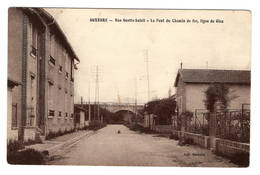 89 YONNE - AUXERRE Rue Guette-Soleil, Pont Du Chemin De Fer, Ligne De Gien (voir Descriptif) - Auxerre