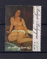 Belgique 2007 COB 3599 XX  Peinture, Amadeo Modigliani - Belgique
