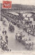 BE17- ROUEN  FETES NORMANDES 18 21 JUIN 1909 LA REINE DE PARIS  CPA  CIRCULEE - Rouen