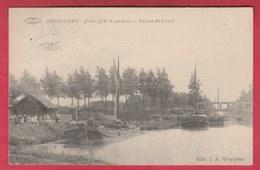 Beringen - Zicht Op De Vaartkom - 1912 ( Verso Zien ) - Beringen