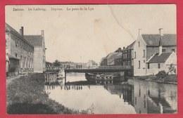 Deinze - De Leibrug - 1913 ( Verso Zien ) - Deinze