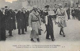 Paris 11 Novembre 1920: Les Fêtes Du Cinquantenaire De La République, Entrée Au Panthéon Du Coeur De Gambetta - Events