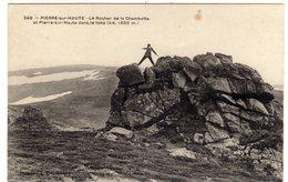 Pierre Sur Haute Le Rocher De La Chambotte - Zonder Classificatie