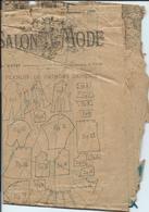 Ancien Patron - Salon & Mode Du 14 /12/1895 - Patrons