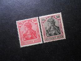 D.R.86 Lla/91 Llx  10Pf*/50Pf*MLH - 1915 - Mi 2,00 € - Deutschland