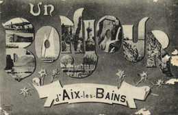 Fantaisie Un BONJOUR D'AIX Les BAINS  Multivues RV - Aix Les Bains