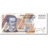 Billet, Équateur, 5000 Sucres, 1996-01-13, KM:128b, NEUF - Equateur
