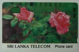 SRI LANKA - Tamura - 500 Units - Roses - Mint - Sri Lanka (Ceylon)