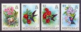 Naa0587 FAUNA VOGELS KOLIBRIE BLOEMEN BIRDS HUMMINGBIRDS FLOWERS BLUMEN FLORA VÖGEL AVES OISEAUX MONTSERRAT 1983 PF/MNH - Hummingbirds