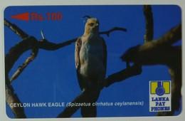 SRI LANKA - GPT - Specimen - Ceylon Hawk Eagle - Rs 100 - Sri Lanka (Ceylon)