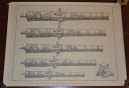 Fonte Des Canons, Cm 66 X 49,5 - Stampe & Incisioni