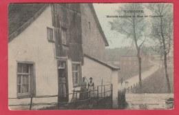 Nassogne - Maison Antique Et Rue Du Coumont -Superbe Carte Couleur -1907  ( Voir Verso ) - Nassogne