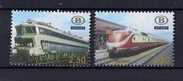 Belgique 2007 Chemin De Fer COB TRV 52/53 Locomotives  Trans-Europ-Express - Chemins De Fer