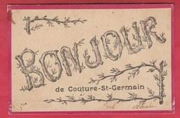 Couture-St-Germain - Bonjour De … - Jolie Fantaisie - 1907 ( Voir  Verso ) - Lasne