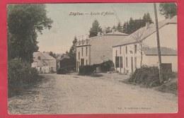 Léglise - Route D'Arlon - Superbe Carte Couleur - 1906 ( Voir Verso , Cachet Particulier ) - Léglise