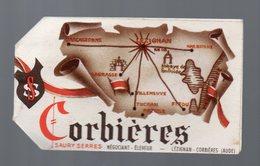 Lézignan (11Aude) Lot De 3 étiquettes Identiques CORBIERES (PPP15047) - Advertising