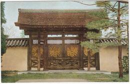 Tyokusi-Mon (An Envoy Gate), Sanpo-in, Daigo Temple, Kyoto - (Japan) - Kyoto