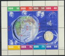 DDR 926/33 Kleinbogen O Tagesstempel Schwerin - Blocks & Kleinbögen