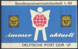 DDR Markenheftchen SMHD27 Mit 10x3130 ** Postfrisch - DDR