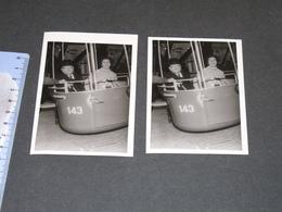 BRUXELLES - EXPO 58 - Téléphérique - 2 Photos 8/10/58 - Places