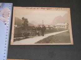 CORTINA D'AMPEZZO - 1913 - Photo Originale - Lieux