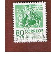 MESSICO (MEXICO) -  SG  1327b  - 1975 MICHOACAN DANCERS   -  USED° - Messico