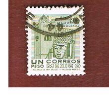 MESSICO (MEXICO) -  SG  1346f  - 1972  HEAD HIDALGO  -  USED° - Messico