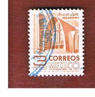 MESSICO (MEXICO) -  SG  1327d  - 1975  MODERNISTIC CHURCH  -  USED° - Messico